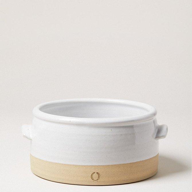 Farmhouse Pottery Beehive Baker (M) - POT123WH