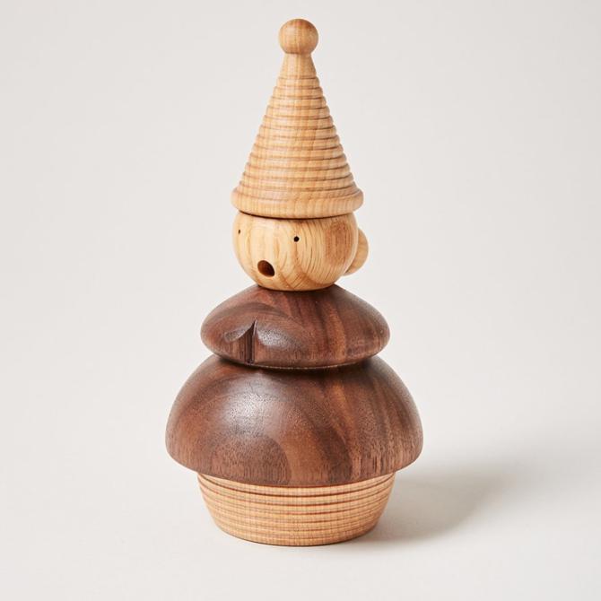 Farmhouse Pottery Crafted Woodland Smoker Ingrid