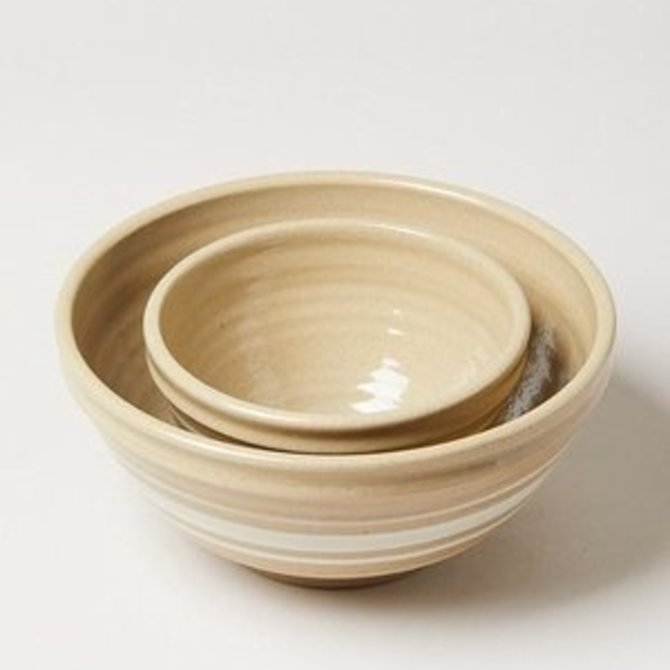 Farmhouse Pottery Farmhouse Yellow Ware Bowl (L) - POT310WH