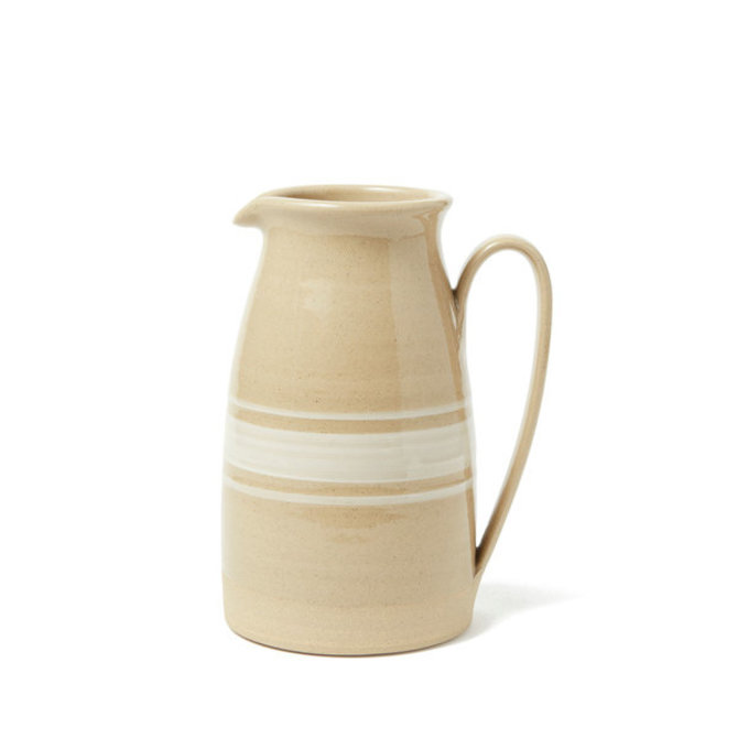 Farmhouse Pottery Farmhouse Yellow Ware Pitcher (M) - POT311WH