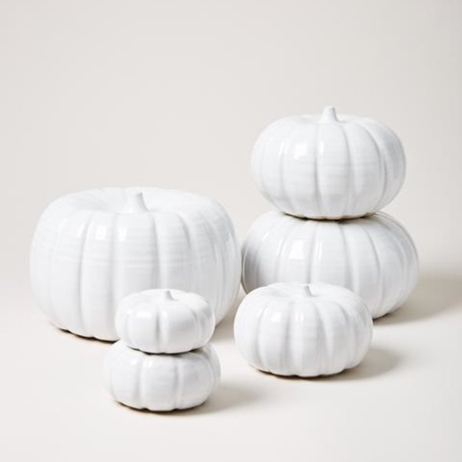 Farmhouse Pottery Petite Heirloom Pumpkin