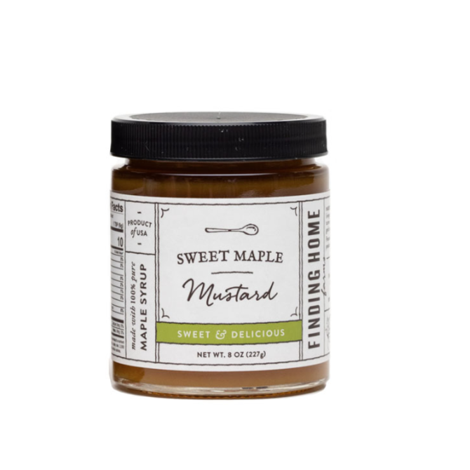Finding Home Farms Sweet Maple Mustard