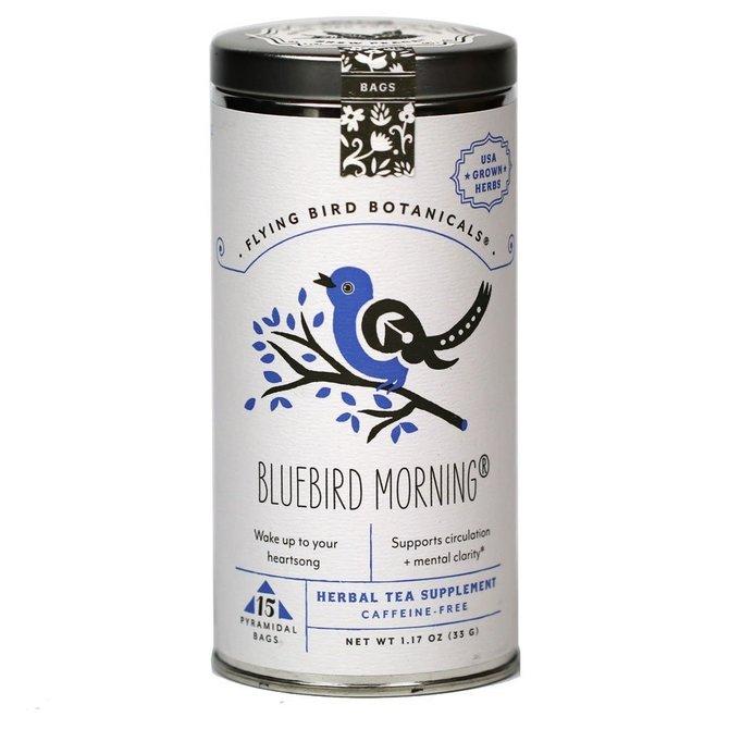 Flying Bird Botanicals Bluebird Morning - 15 Bag Tin