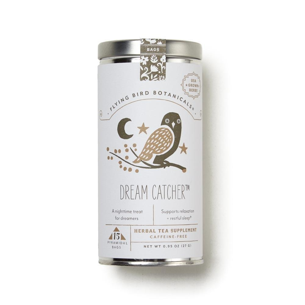 Flying Bird Botanicals Dream Catcher - 15 Bag Tin