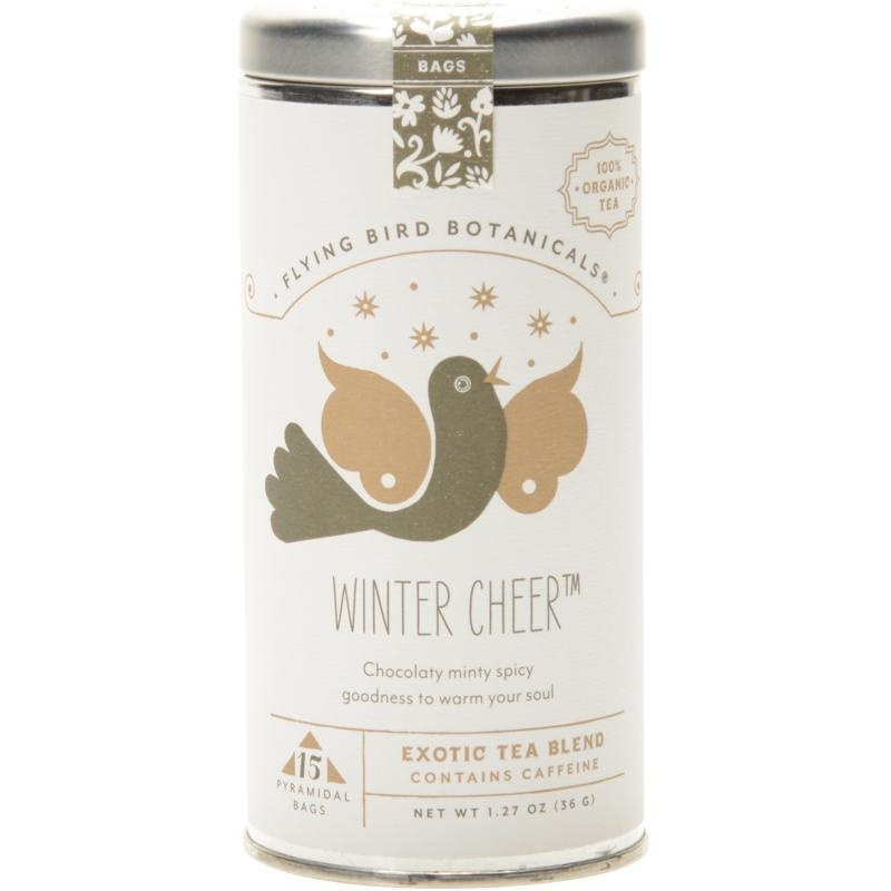 Flying Bird Botanicals Winter Cheer Tin