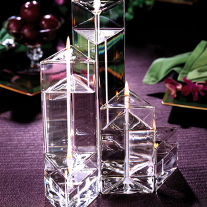 Firelight Glass Medi Prism Trio - Set of 3