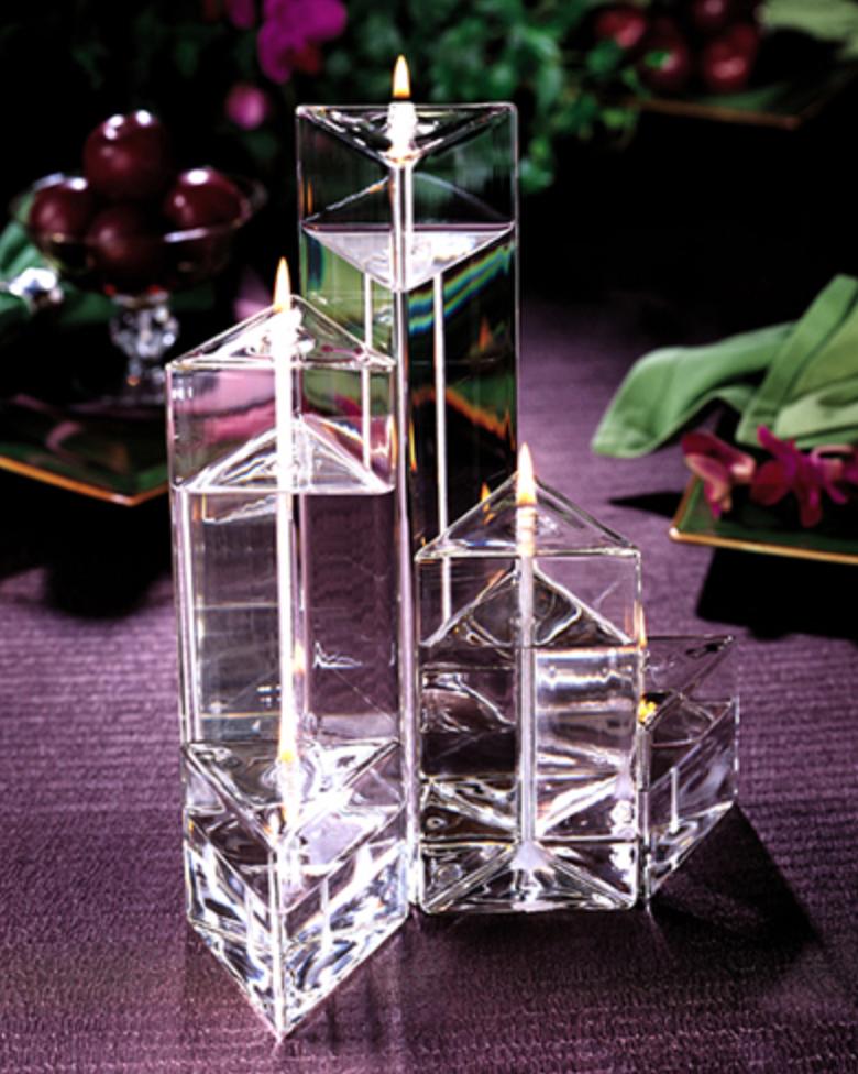 Firelight Glass Medi Prism Trio - Set of 3