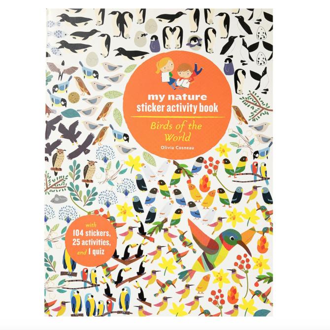 Hachette Sticker Activity Book: Birds of the World