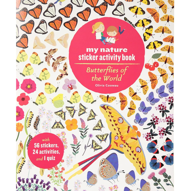 Hachette Sticker Activity Book: Butterflies of the World