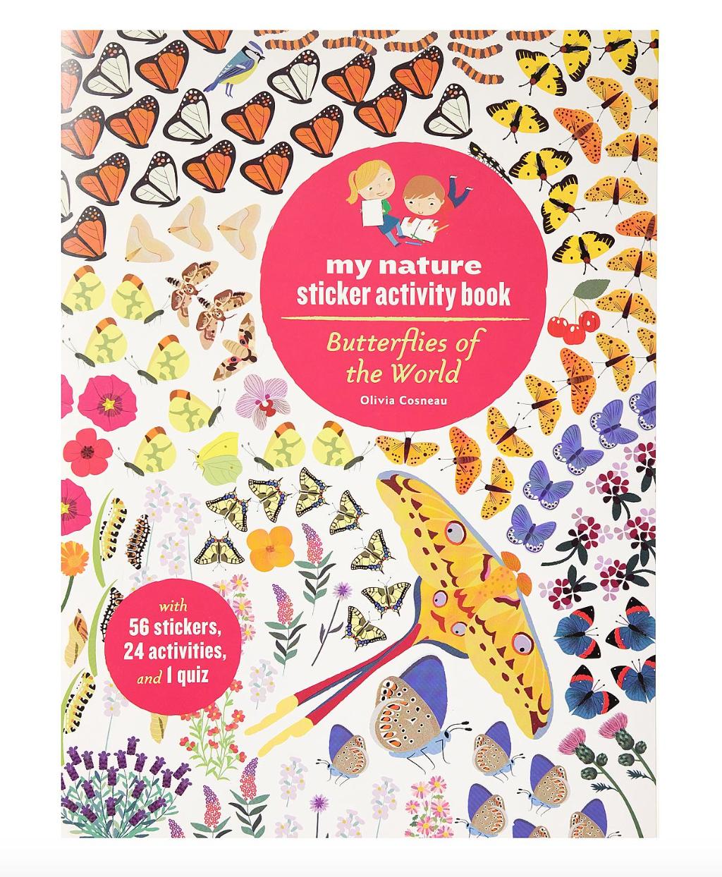 Hachette Sticker Activity Book: Butterflies of the World
