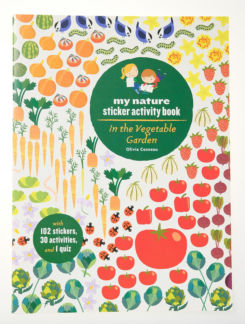 Hachette Sticker Activity Book: In the Vegteable Garden