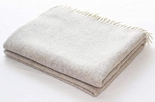 Harlow Henry Cashmere Throw Linen