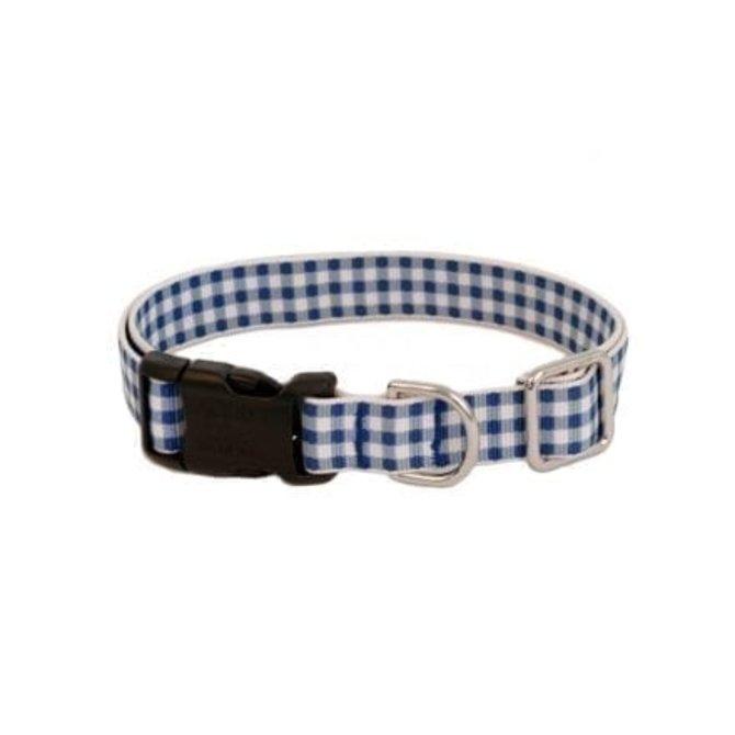 Harry Barker Gingham Collar Blue 4x14'