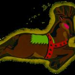 Harry Barker Reindeer Dog Toy Large
