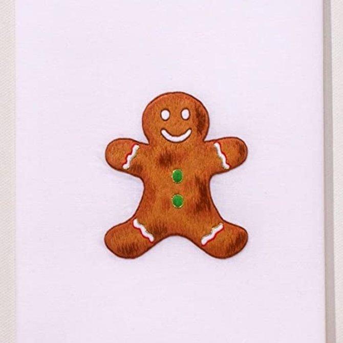 Henry Handwork Gingerbread Man Towel
