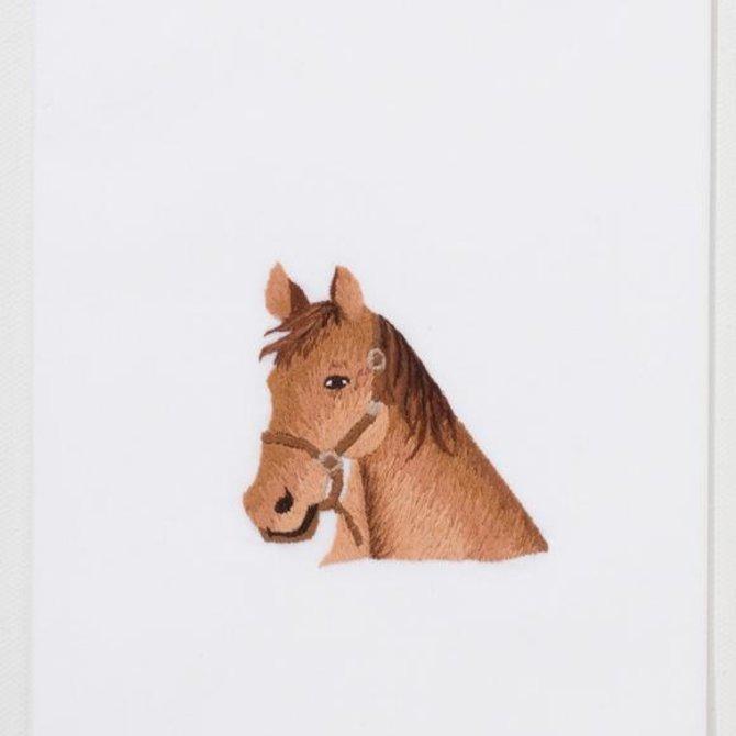 Henry Handwork Horse Head Towel