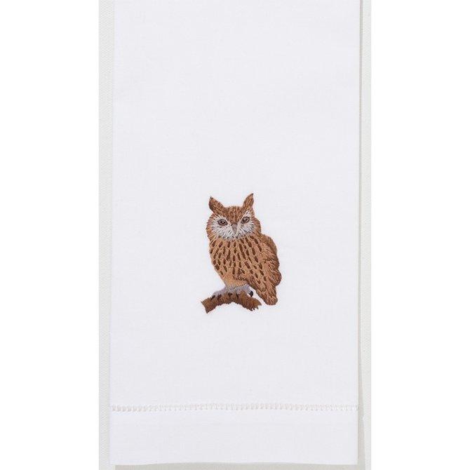 Henry Handwork Owl Towel