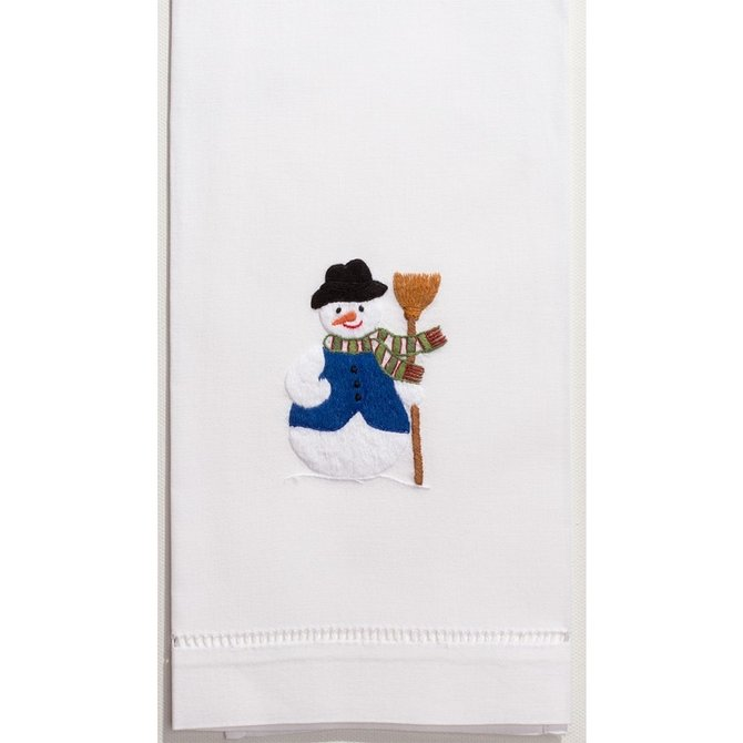 Henry Handwork Snowman Towel