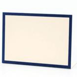 Hester & Cook Navy Frame Place Card - Set of 12
