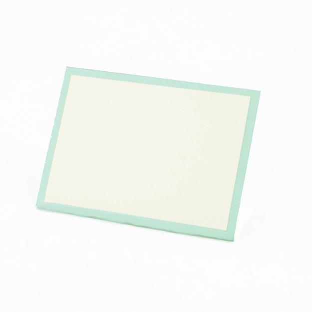 Hester & Cook Seafoam Frame Place Card