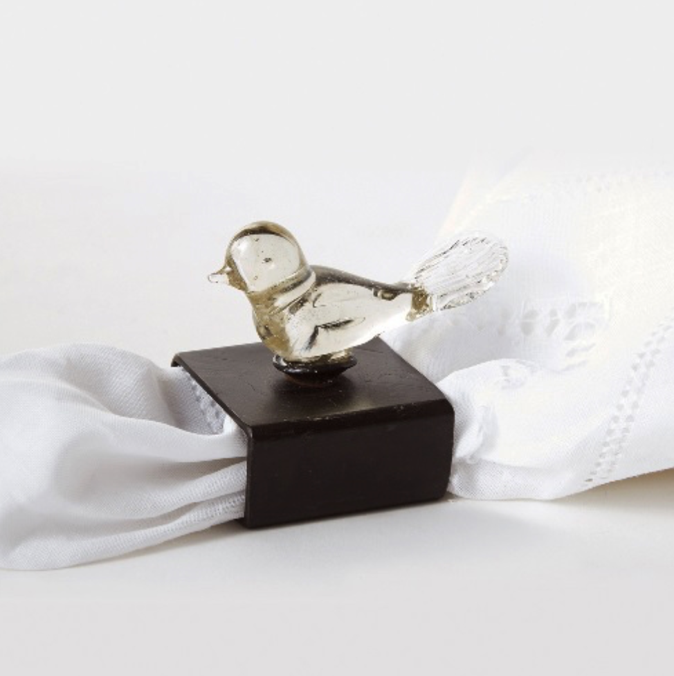 Jan Barboglio Pajarito napkin ring