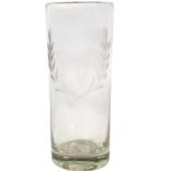 Jan Barboglio Vaso Glass with Corona Laurel Et