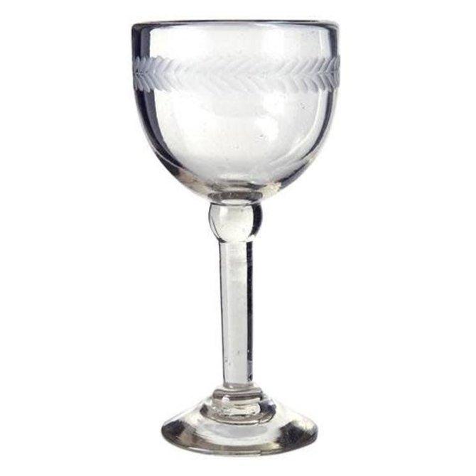 Jan Barboglio vino blanco goblet wtih Canden Laurel