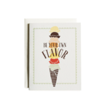 June & December Be Your Own Flavor Greeting Card