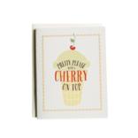 June & December Pretty Please Greeting Card