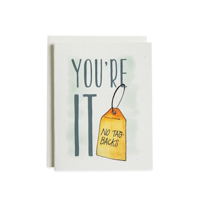 June & December You Are It Card