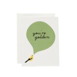 June & December You're Golden Card : Finch
