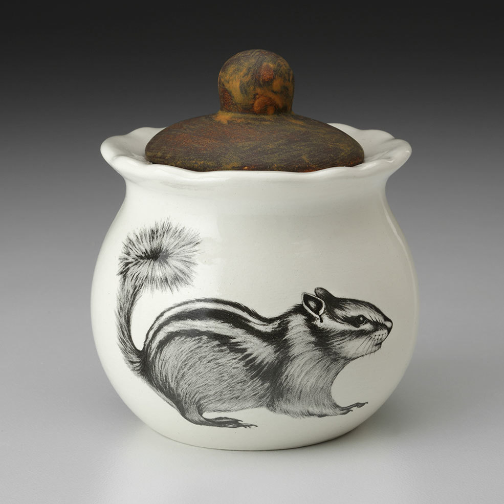 Laura Zindel Design Chipmunk #2 Sugar Bowl