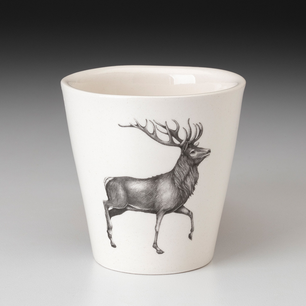 Laura Zindel Design Espresso Cup Red Buck