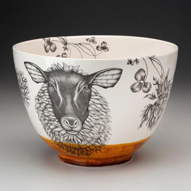 Laura Zindel Design Large Bowl: Suffolk Sheep