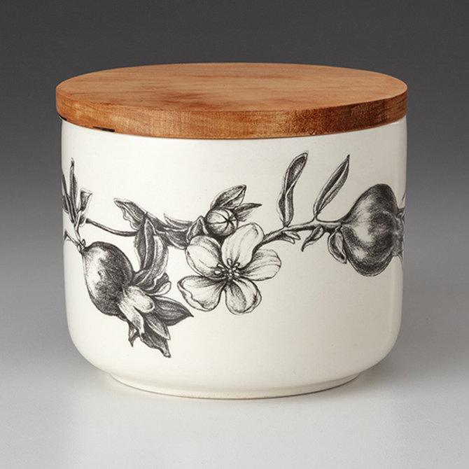 Laura Zindel Design Pomegranate w/Lid Small