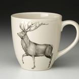 Laura Zindel Design Red buck Mug