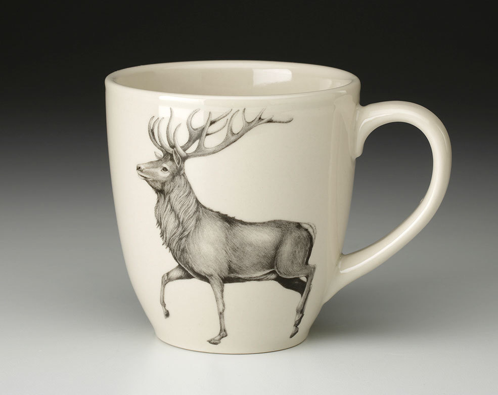 Laura Zindel Design Red buck Mug