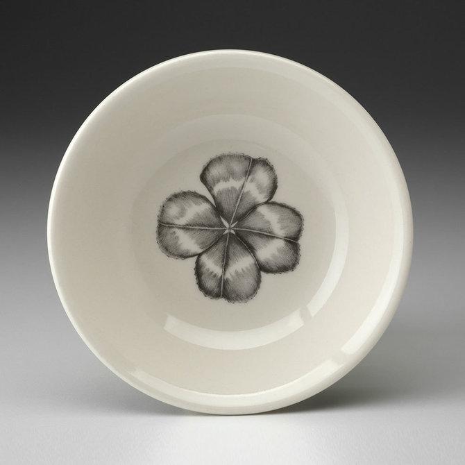 Laura Zindel Design sauce bowl four leaf clover