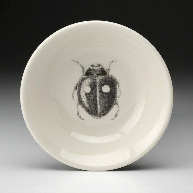 Laura Zindel Design sauce bowl lady beetle