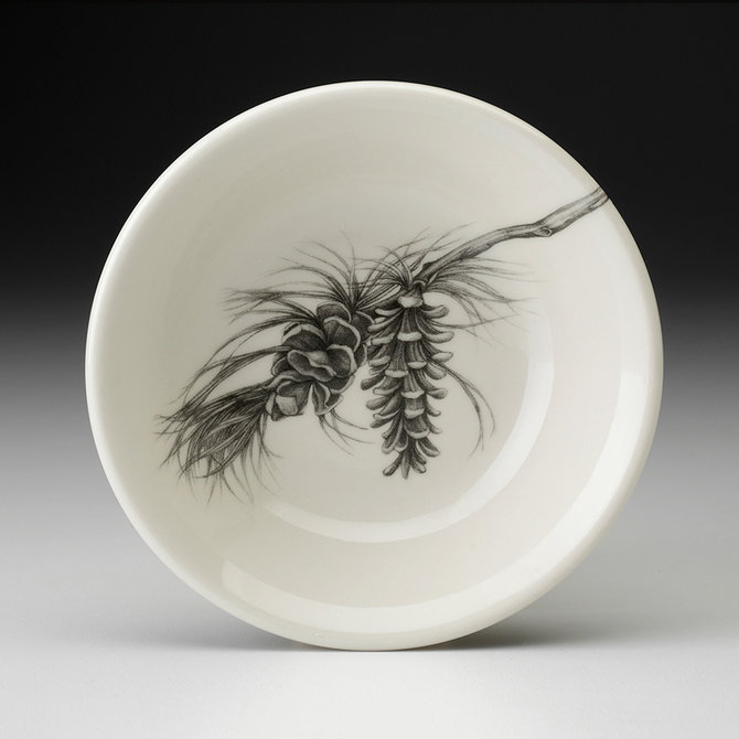 Laura Zindel Design Sauce Bowl Pine Branch