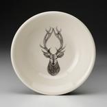 Laura Zindel Design Sauce Bowl Red Stag Deer