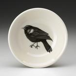 Laura Zindel Design Sauce Bowl Red Winged Blackbird