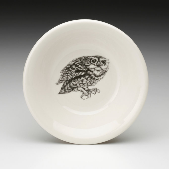 Laura Zindel Design Sauce Bowl Screech Owl #2
