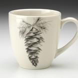 Laura Zindel Design Single pinecone mug
