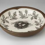 Laura Zindel Design Small Pasta Bowl: Quail Nest