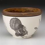 Laura Zindel Design Small Round Bowl Turkey