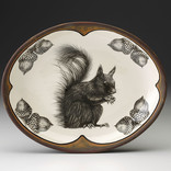 Laura Zindel Design small serving dish squirrel