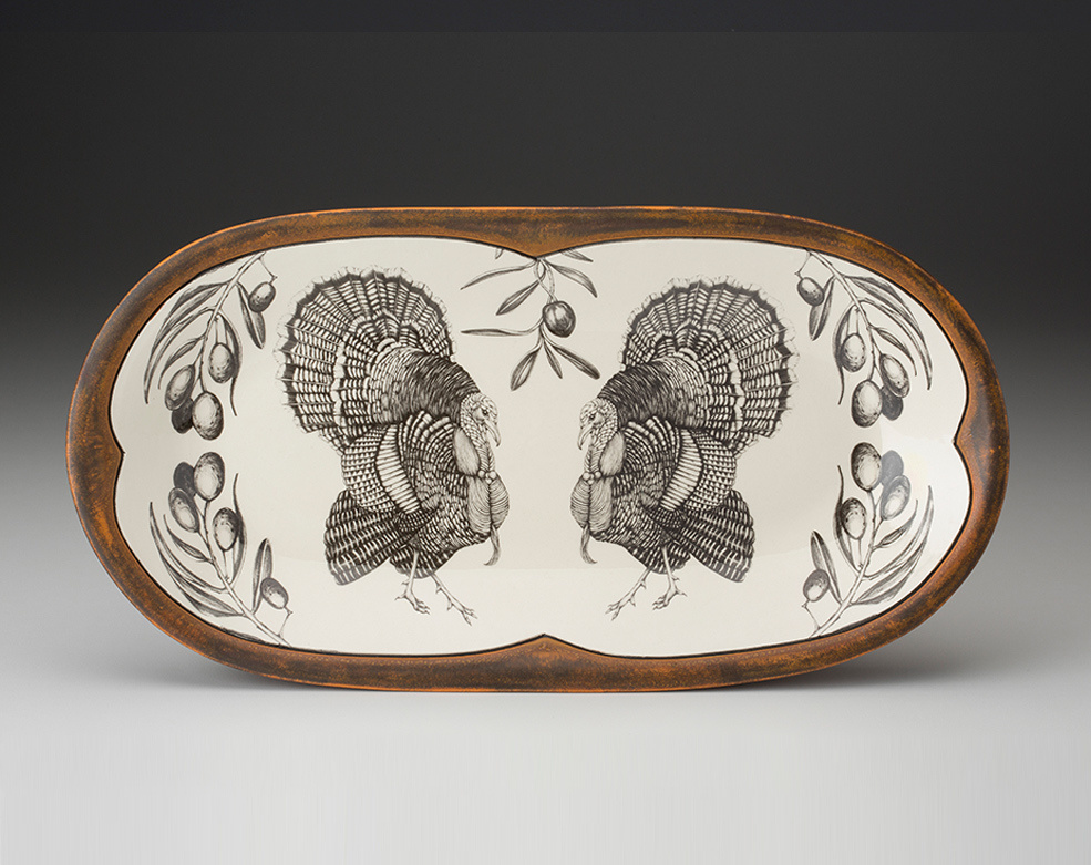 Laura Zindel Design Turkey Rectangular Serving Dish