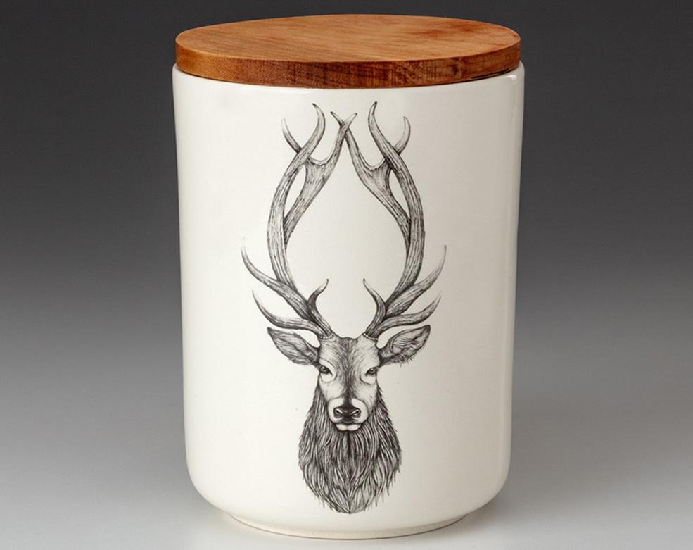 Laura Zindel Design Red Buck Medium Canister