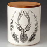Laura Zindel Design Red Stag Large Canister